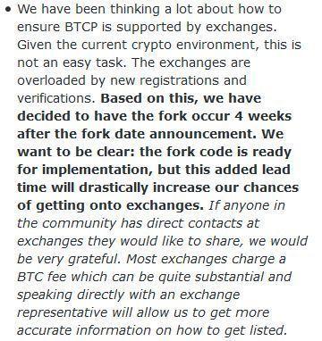 Bitcoin Private Update